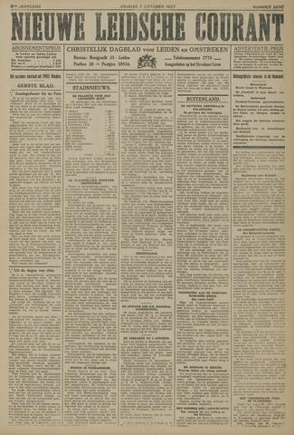 Nieuwe Leidsche Courant 1927-10-07