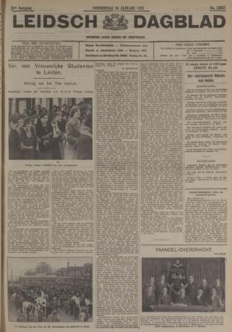 Leidsch Dagblad 1935-01-24