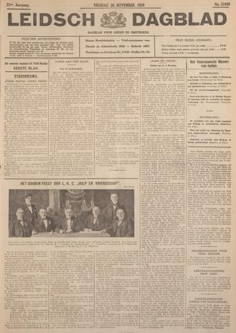 Leidsch Dagblad 1930-11-28