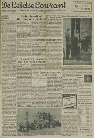 Leidse Courant 1958-01-28