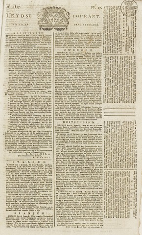 Leydse Courant 1817-02-07