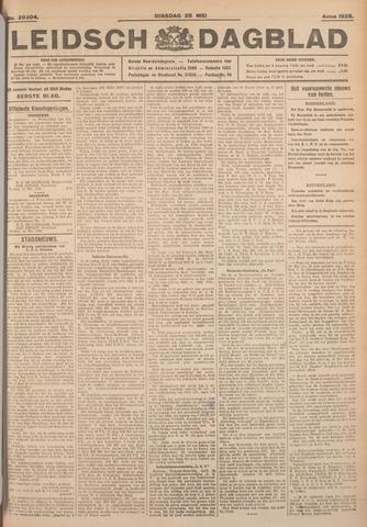 Leidsch Dagblad 1926-05-25