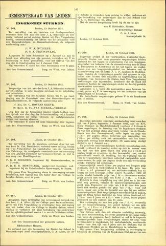 Handelingen van de Raad 1931-10-15