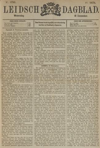Leidsch Dagblad 1878-12-18