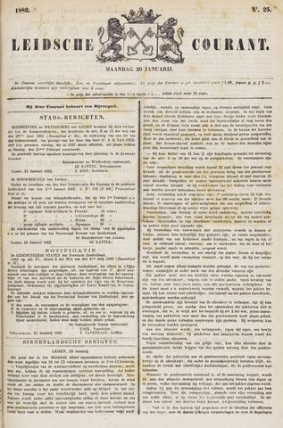 Leydse Courant 1882-01-30