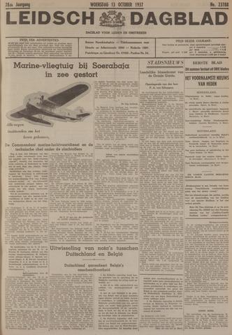 Leidsch Dagblad 1937-10-13
