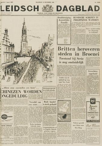 Leidsch Dagblad 1962-12-10