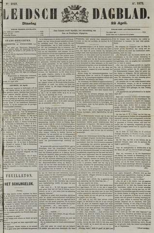 Leidsch Dagblad 1873-04-22