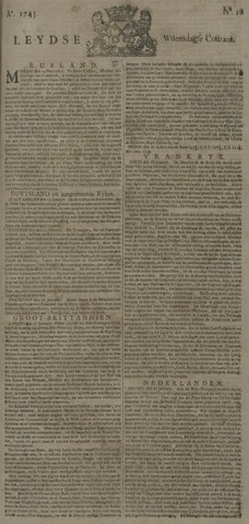 Leydse Courant 1743-01-23