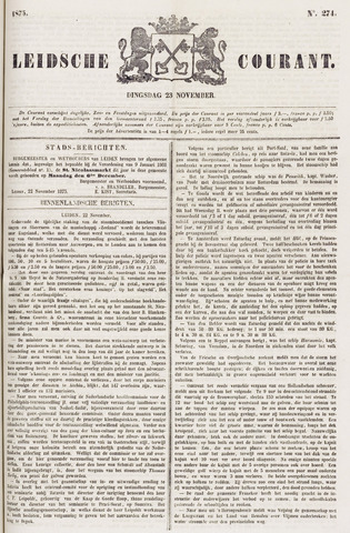 Leydse Courant 1875-11-23