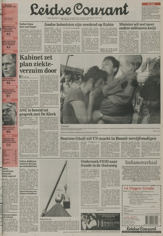 Leidse Courant 1992-09-11