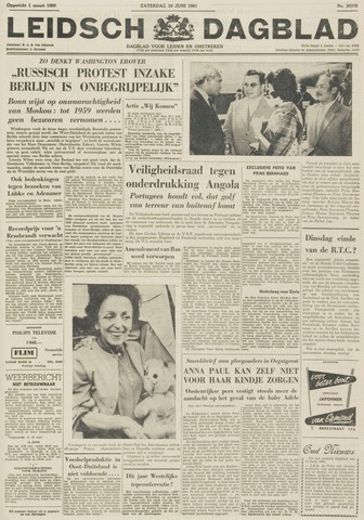 Leidsch Dagblad 1961-06-10