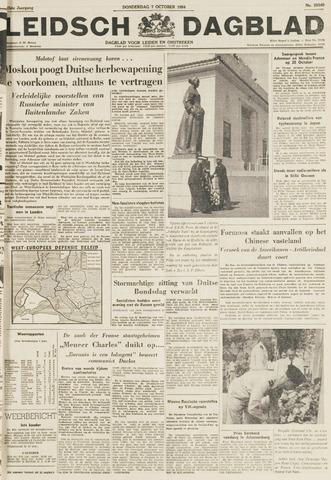 Leidsch Dagblad 1954-10-07
