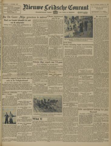 Nieuwe Leidsche Courant 1947-10-01