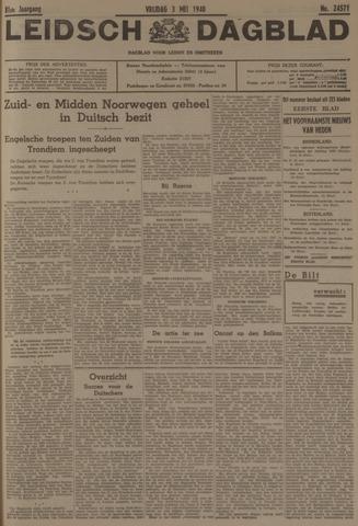 Leidsch Dagblad 1940-05-03