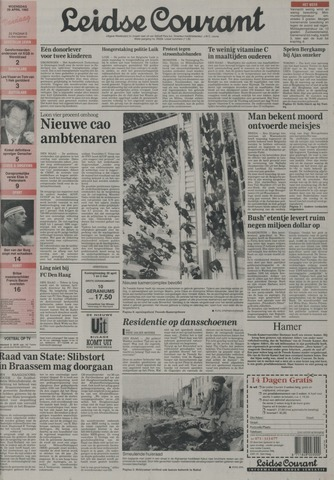 Leidse Courant 1992-04-29