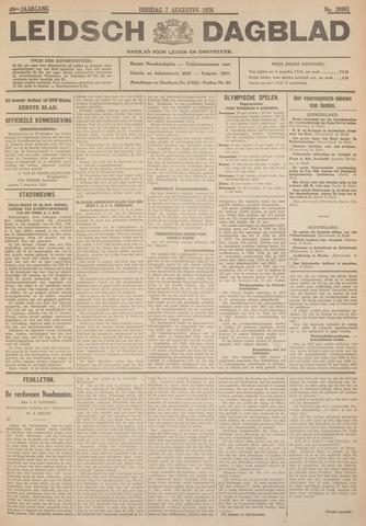Leidsch Dagblad 1928-08-07