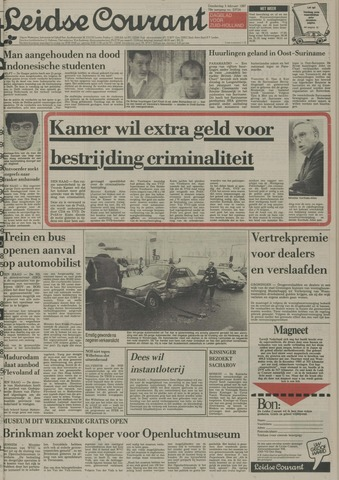 Leidse Courant 1987-02-05