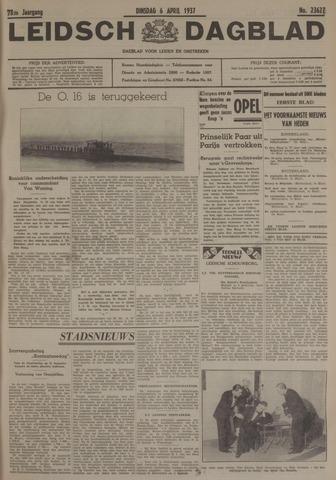 Leidsch Dagblad 1937-04-06