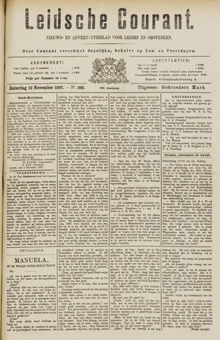 Leydse Courant 1887-11-12