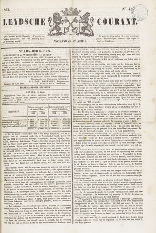 Leydse Courant 1865-04-12