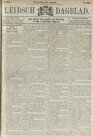 Leidsch Dagblad 1892-04-12