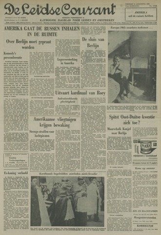 Leidse Courant 1961-08-11