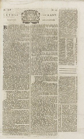 Leydse Courant 1818-02-09