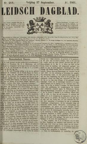 Leidsch Dagblad 1861-09-27