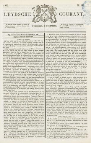 Leydse Courant 1855-11-21