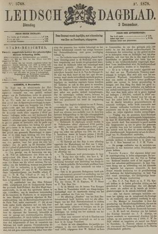 Leidsch Dagblad 1878-12-03