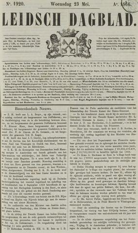 Leidsch Dagblad 1866-05-23
