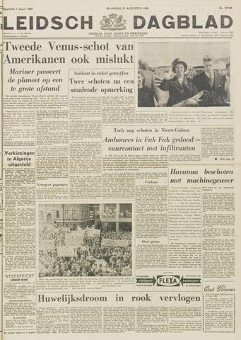 Leidsch Dagblad 1962-08-27