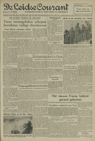 Leidse Courant 1952-01-21