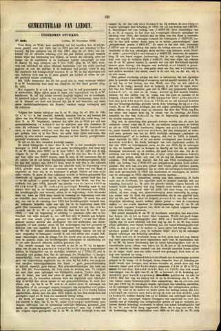 Handelingen van de Raad 1881-11-26