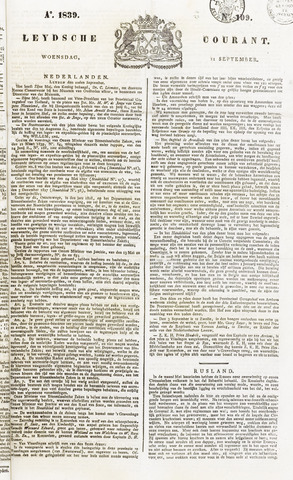 Leydse Courant 1839-09-11