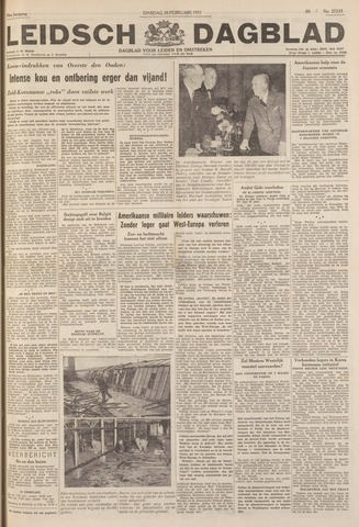 Leidsch Dagblad 1951-02-20