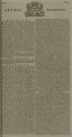 Leydse Courant 1722-11-23