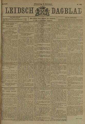 Leidsch Dagblad 1907-01-08