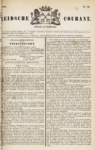 Leydse Courant 1883-02-23