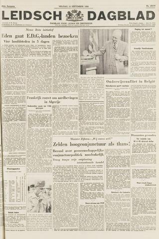 Leidsch Dagblad 1954-09-10