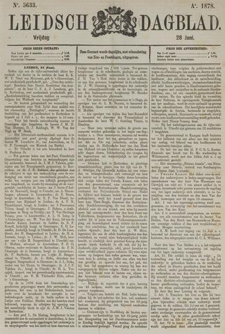 Leidsch Dagblad 1878-06-28