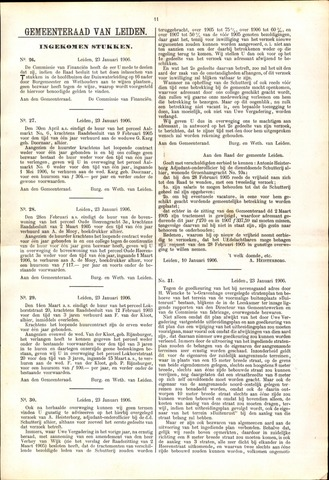 Handelingen van de Raad 1906-01-23