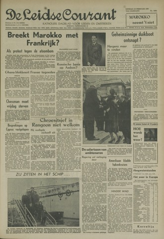 Leidse Courant 1960-02-16