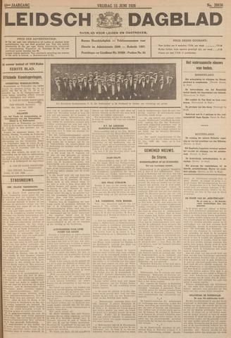 Leidsch Dagblad 1928-06-15