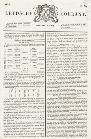 Leydse Courant 1855-07-09