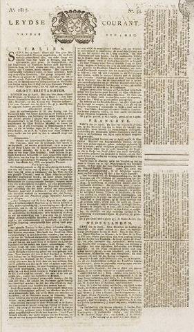 Leydse Courant 1815-05-05