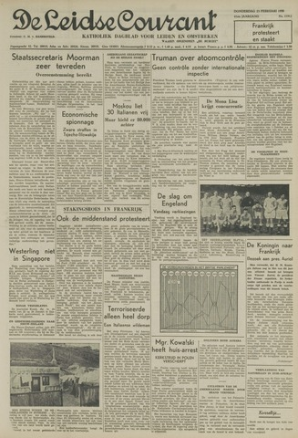 Leidse Courant 1950-02-23