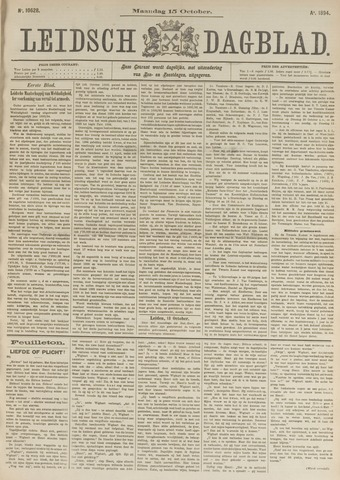Leidsch Dagblad 1894-10-15
