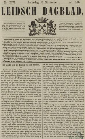 Leidsch Dagblad 1866-11-17